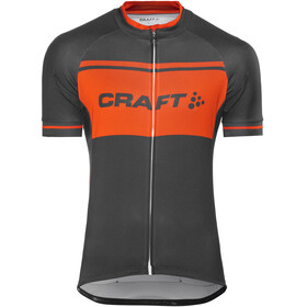 Craft Classic Logo Jersey korte mouwen Heren zwart